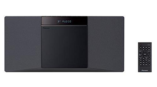 Pioneer X-SMC02-B Slim All-In One System mit Bluetooth und USB-Anschluss schwarz