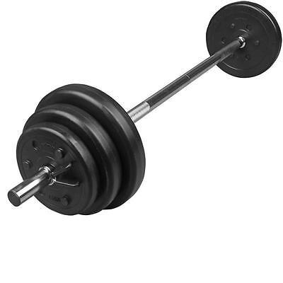 Hantelset Gewichte 20 kg Hantel Langhantel Langhantelstange Hantelscheiben 30mm