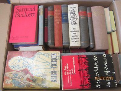 41 Bücher Romane internationale Klassiker Becket Dickens Tolstoi Zola  u.a.
