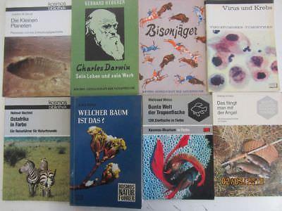 125 Bücher Kosmos Verlag Naturführer Kosmos Bibliothek