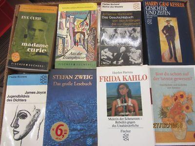 121 Bücher Taschenbücher Fischer Verlag