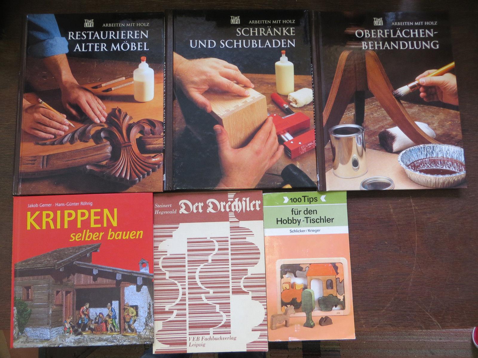 Bücherpaket 13 x Möbelrestaurierung Holzbearbeitung Handwerk alte Möbel Sammlung