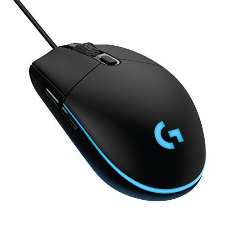 Logitech G203 kabelgebundene Gaming Maus (Optische 6000 dpi, mit 16,8 Mio-Farb-LED-Anpassung)