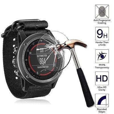 Klar gehärtete Glas Panzerglas Displayschutzfolie für Garmin Fenix 5 Smartwatch