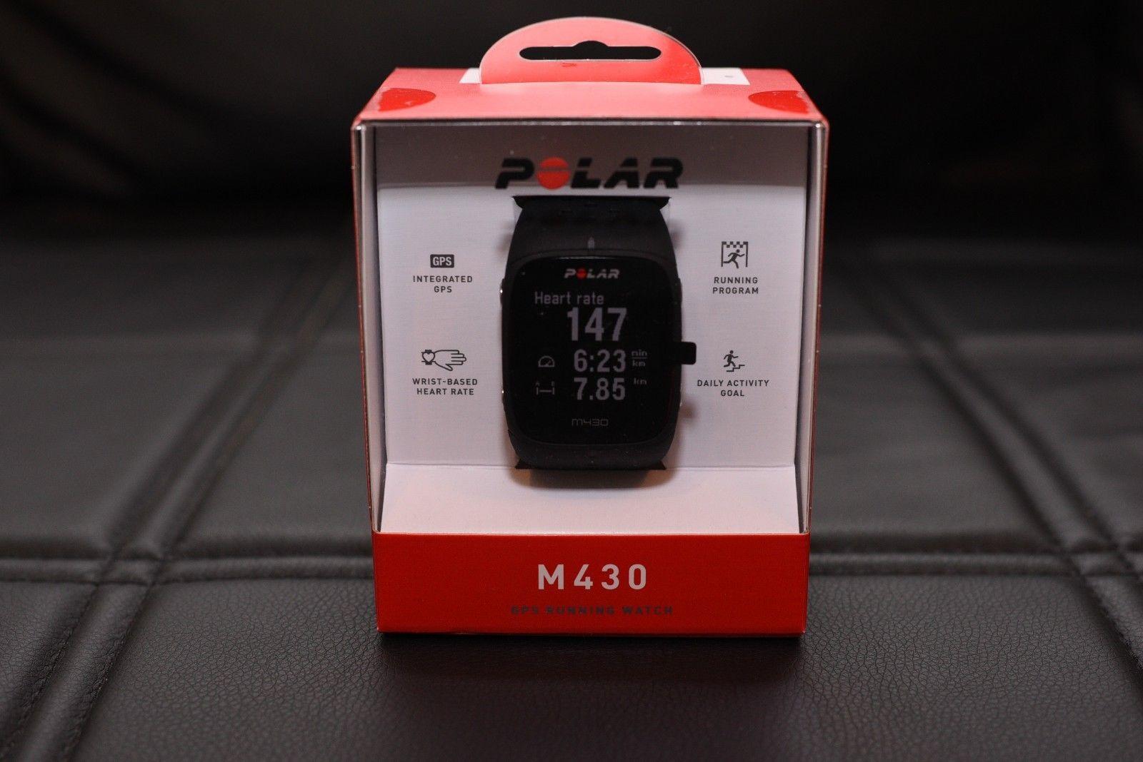 POLAR M430 GPS Running Uhr Fitnessuhr Herzfrequenz Geschwindigkeit Distanz