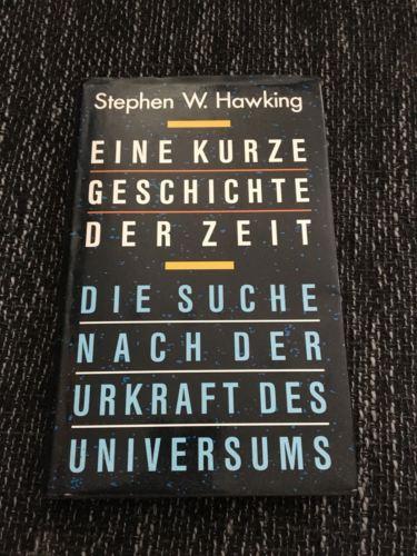 Stephen Hawking - 1988 - Orig. Eine Kurze Geschichte der Zeit