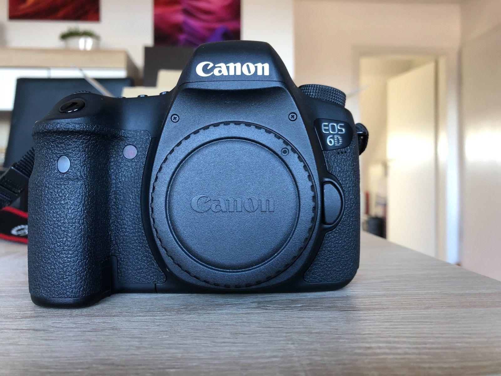 Canon EOS 6D, TOP-Zustand, Zubehörpaket