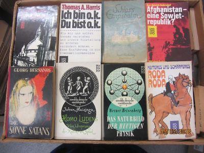 121 Bücher Taschenbücher rororo Verlagbis Seriennummer 8000