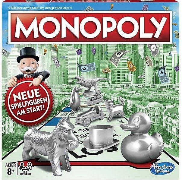 Hasbro Monopoly Classic Neuauflage Neue Spielfiguren statt 34,95 EUR NEU & OVP