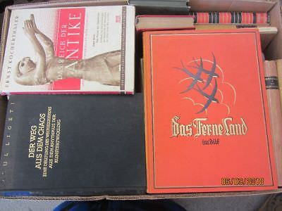 49 Bücher antiquarische Bücher Paket 1