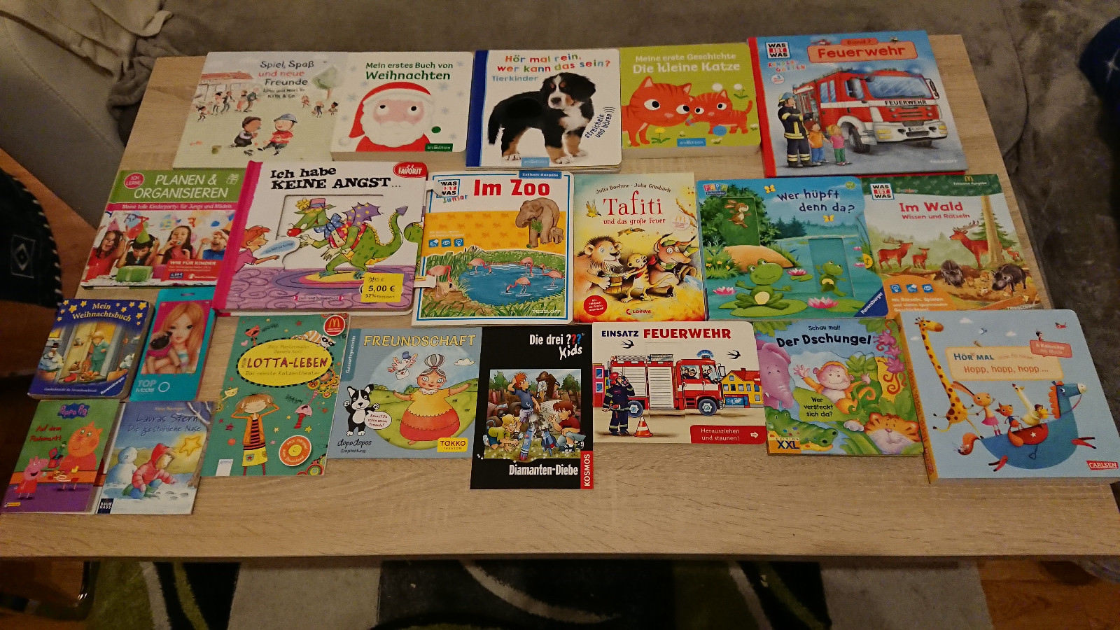 21 Marken Bilderbücher Kinderbücher ab 18 Mon. Buchpaket Feuerwehr, Im Zoo.. top