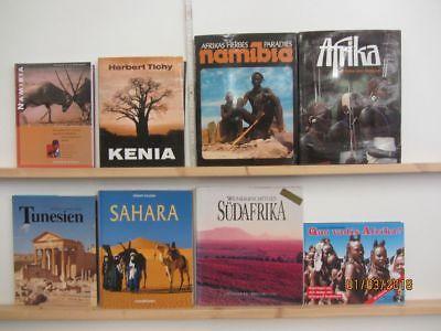 23 Bücher Bildbände Afrika afrikanische Länder afrikanische Städte