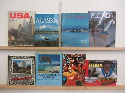 25 Bücher Bildbände Amerika amerikanische Länder amerikanische Städte