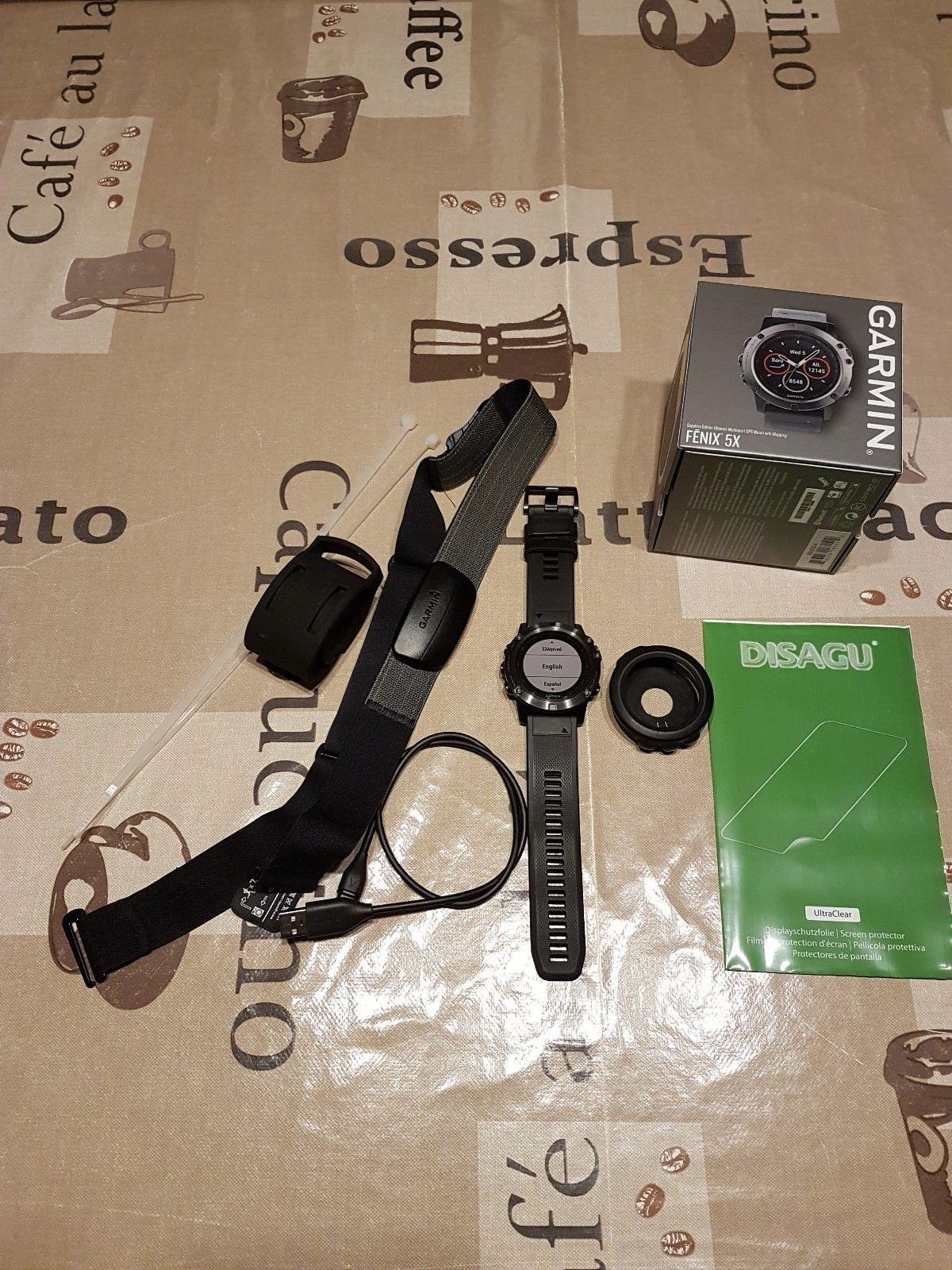 Garmin Fenix 5X Smartwatch Saphirglas GPS