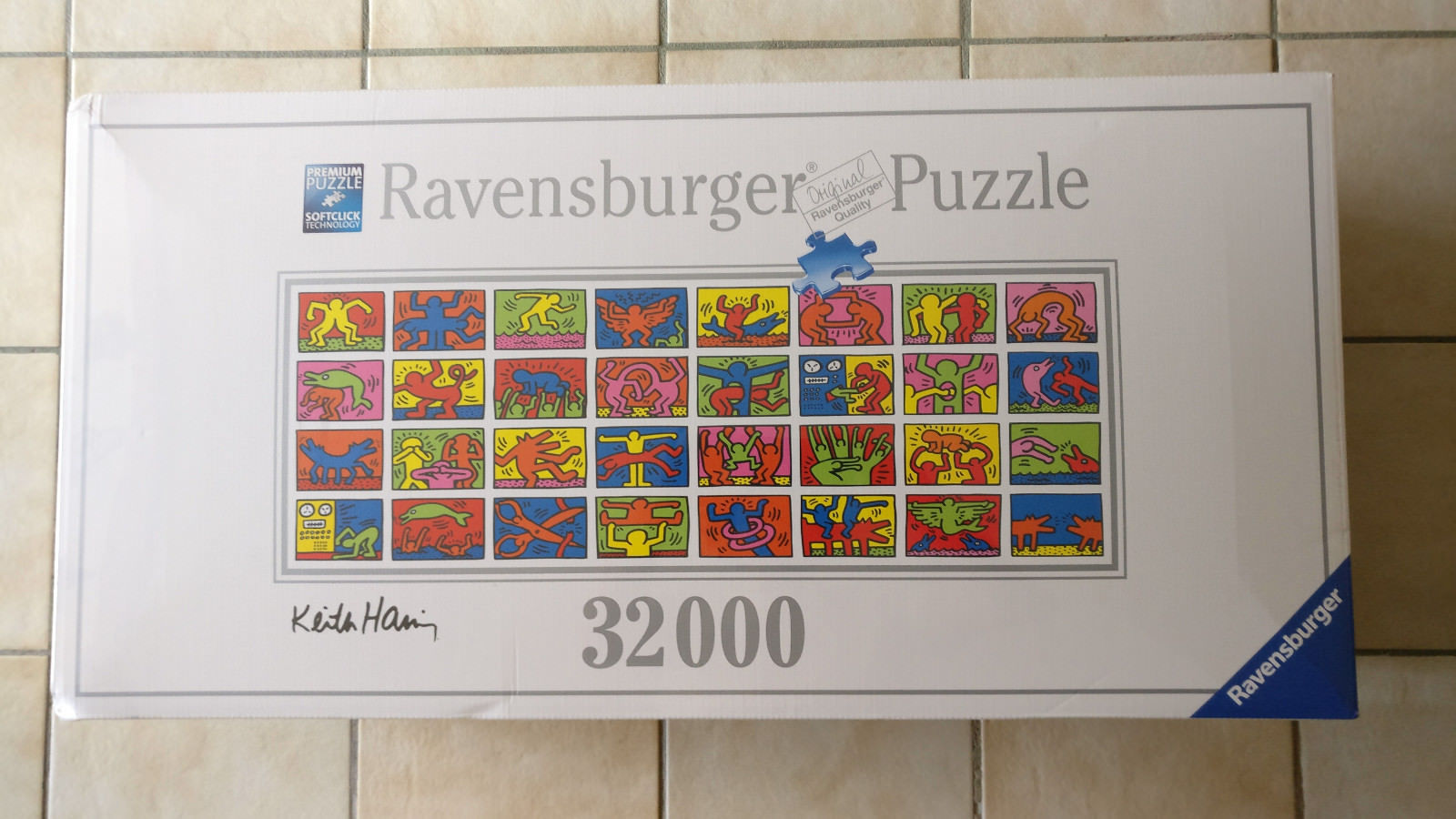 32000 Teile Ravensburger® Puzzle 17838 Keith Haring Double Retrospect NEU/OVP