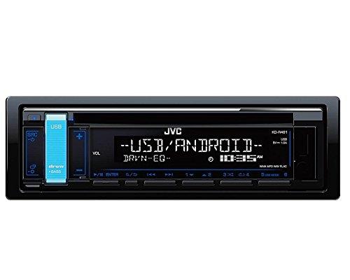 JVC Radio KDR481 1DIN mit Einbauset für Audi TT (8N) 1998-2006