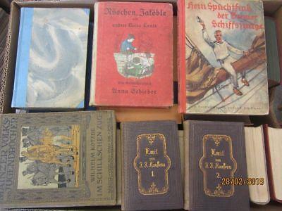 47 Bücher antiquarische Bücher Paket 2