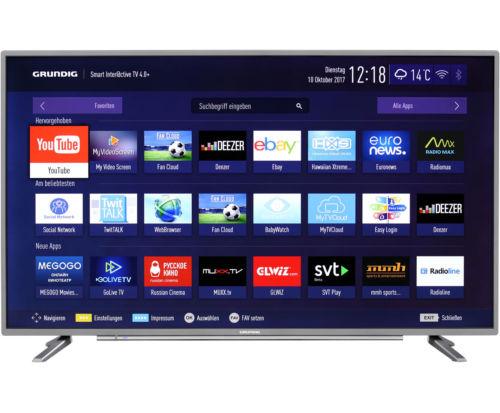 Grundig 55 GUT 8768 4K/UHD LED Fernseher 139 cm [55 Zoll] Anthrazit