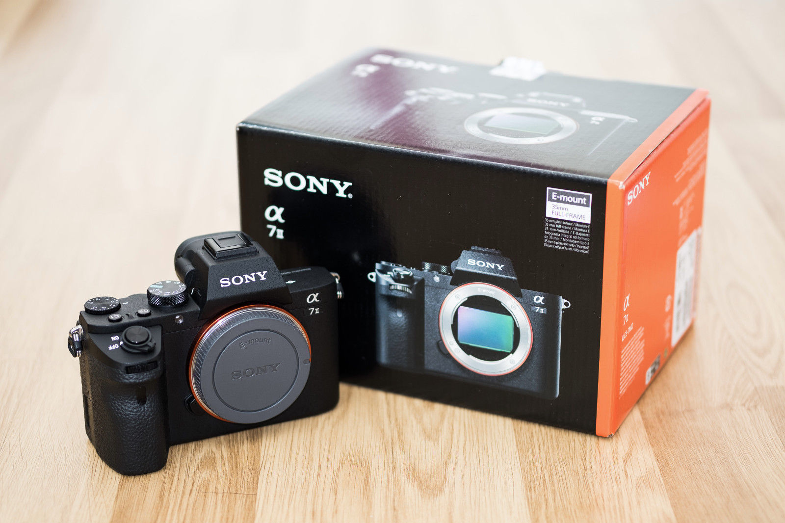 Sony Alpha ILCE-7M2 24.3 (Nur Gehäuse) - A7 II