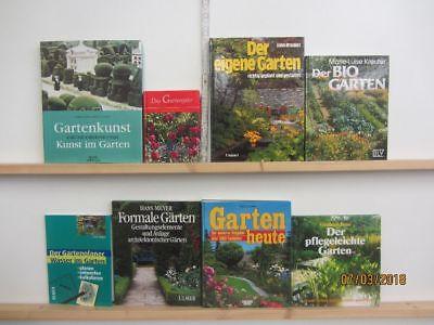 28 Bücher Garten gärtnern Gartengestaltung Gartenpflege Gartenkunst