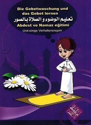 Die Gebetswaschung und das Gebet lernen (mehrsprachig)   Islam Koran Takschita