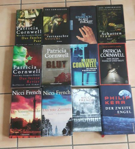 Krimi/ Thriller Paket 29 Bücher