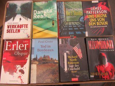 61 Bücher Romane Krimi Thriller Psychothriller  Top Titel Bestseller