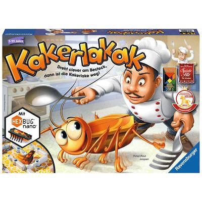 RAVENSBURGER Kinderspiel Kakerlakak Aktionsspiel Gesellschaft Reaktionsspiel