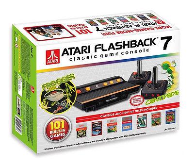 Atari Flashback 7 2600 Retro Classic Konsole inkl. 101 Spiele Frogger Edit. NEU
