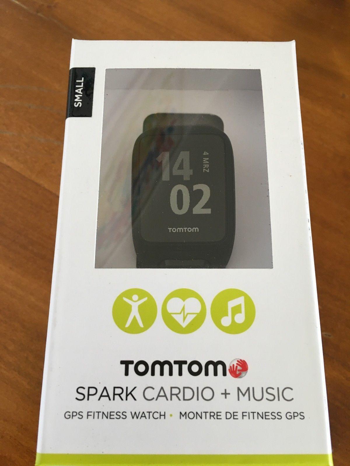 TomTom Spark 2 Cardio + Music in Größe S schwarz RESTGARANTIE