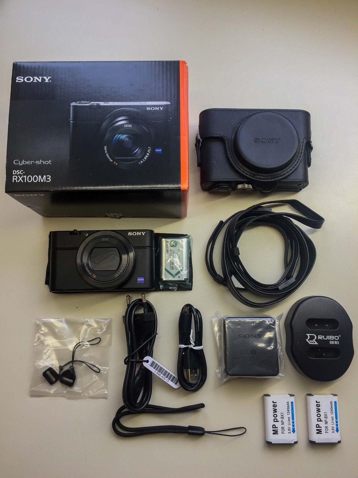 Sony Cyber-shot DSC-RX100M3 / III 20.1 MP Digitalkamera inkl. Zubehörpaket