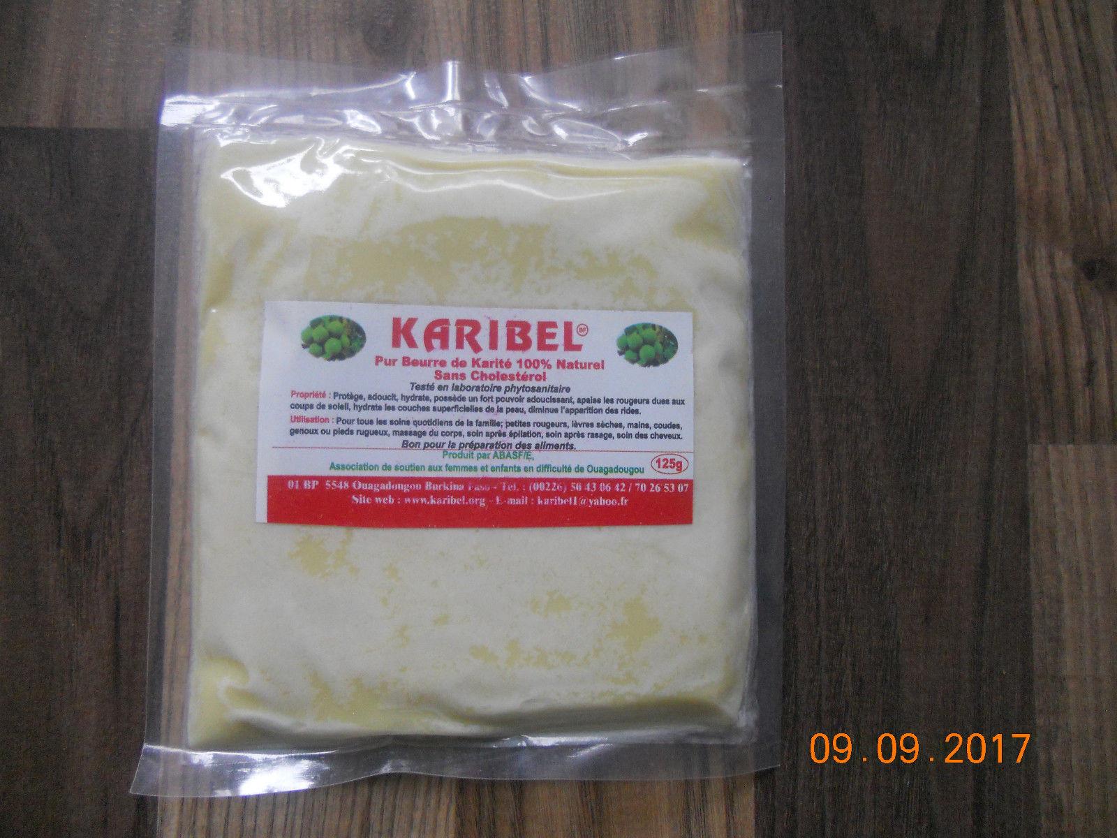 125g Sheabutter, beurre de karité 100% natürlich aus Burkina Faso. Unbehandelt !