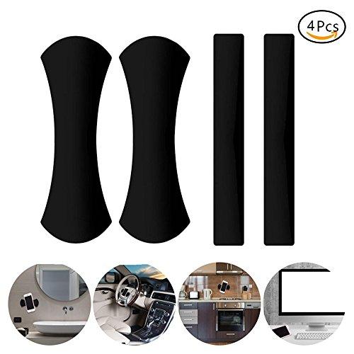 EVILTO 2 Pack Handy Ständer Antirutschmatte KFZ Halterung Universal Fixate Gel Pads Auto-Armaturenbrett Antirutschmatte