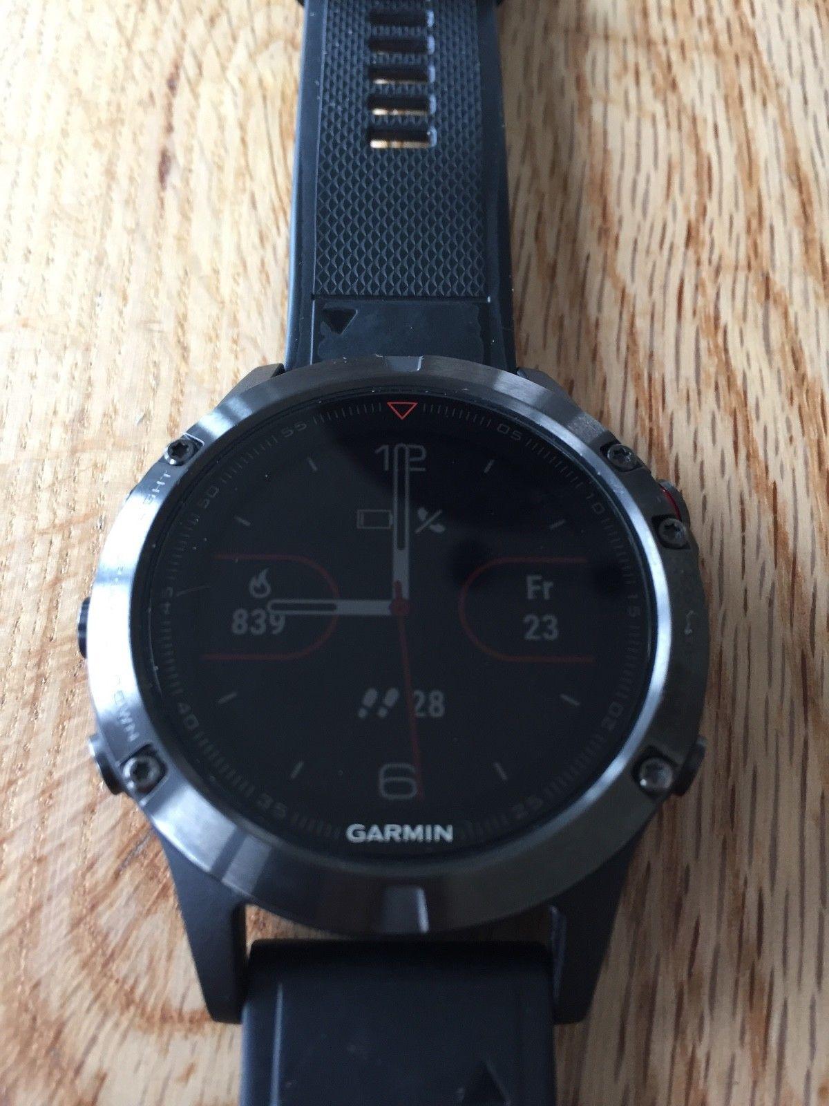 GARMIN *fenix 5* Premium Multisport GPS Watch Smartwatch Trainingsuhr