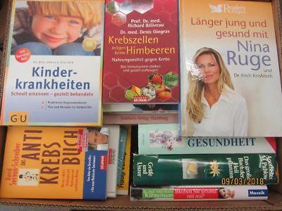 42 Bücher Gesundheit Medizin Selbstheilung Naturmedizin Naturheilkunde