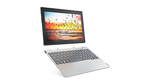 Lenovo Miix 320 25,7 cm (10,1 Zoll Full HD IPS Touch) Convertible Tablet-PC (Intel Atom Z8350, 4GB RAM, 128GB eMMC, LTE, Windows 10 Home) silber