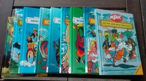 Mosaik von Hannes Hagen, 9 Bücher , Sammlung , Comic