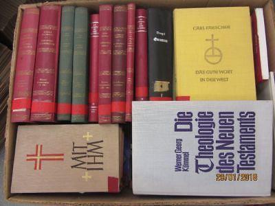 53 Bücher Theologie Religion Kirchengeschichte christliche Bücher Paket 1