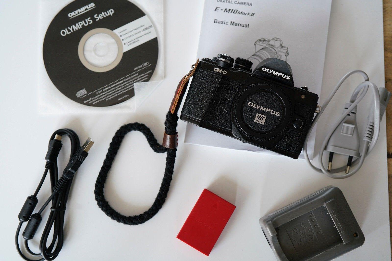 Olympus OM-D OM-D E-M10 Mark II Kamera nur 4093 Auslösungen *TOP*