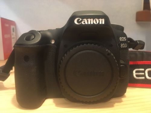 Canon EOS 80D 24.2 MP SLR-Digitalkamera wie NEU mit vielen Extras!!! OVP