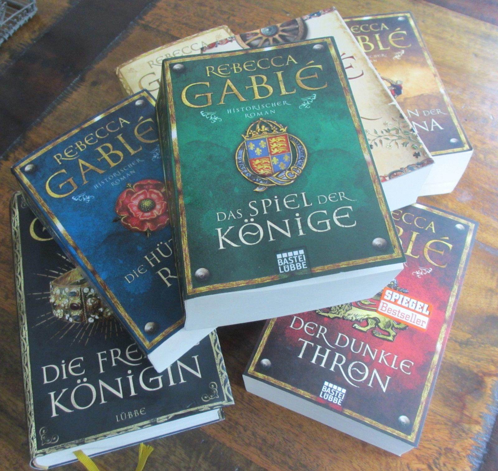 Rebecca Gable Historischer Roman Buchreihe 7 Bücher