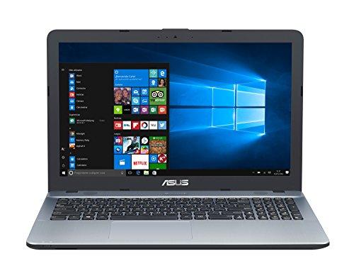 'ASUS k541ua-gq613t-15.6HD Notebook (Intel Core i7–7500U, 8GB RAM, 1TB HDD, Intel HD Graphics, Windows 10Home) Silber–Spanische Tastatur QWERTY