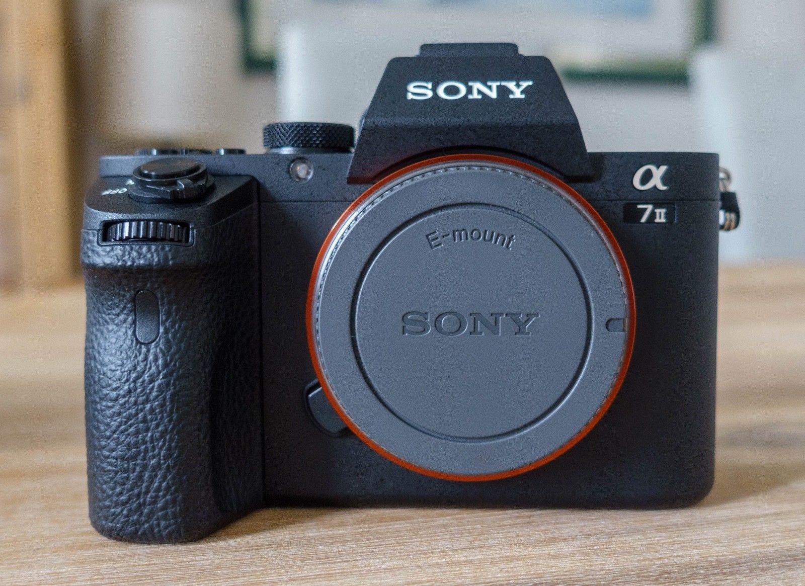 Sony Alpha ILCE-7M2 24.3 MP Digitalkamera - Schwarz (Nur Gehäuse) A7 ii