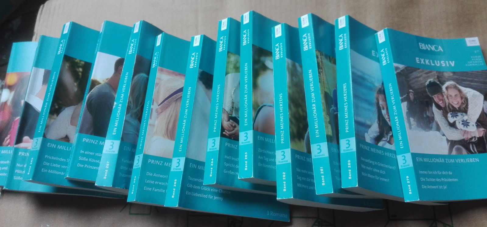 Bianca Exklusiv ~ 2017 komplett ~ Band 279-291 ~ je 3 Romane ~ Verlag Cora ~