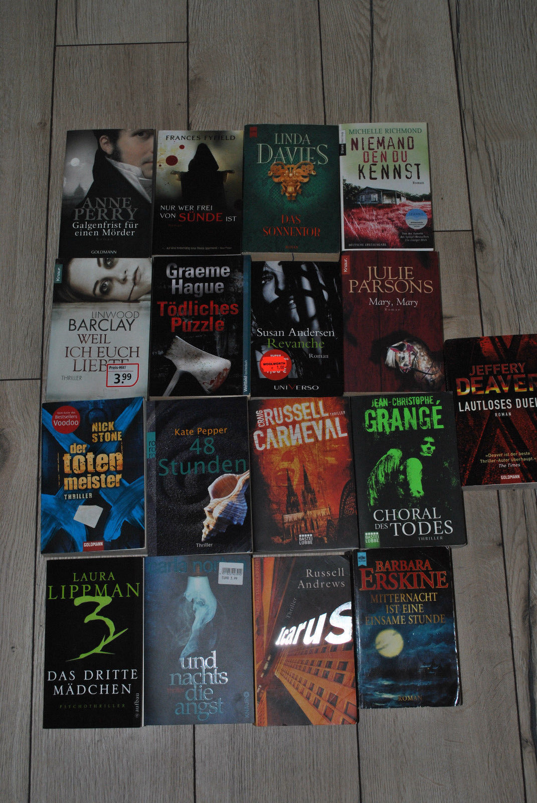 Krimi Thriller 17 Bücher