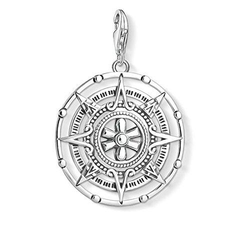 Thomas Sabo Unisex Anhänger Maya-Kalender 925 Sterling Silber Y0035-637-21