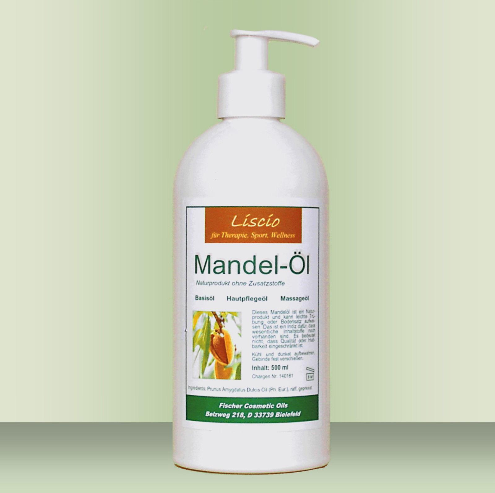 Mandelöl süß 500 ml in med. Qualität inkl. Dosierpumpe