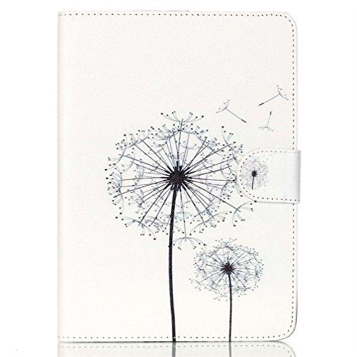 Case für Tab A 10.1 Zoll - Ultra Slim Smart Ledertasche Flip Case Etui mit Standfunktion Schutzhülle für Samsung Galaxy Tab A 10.1 Zoll (2016) SM-T580N / SM-T585N Tablet Hüllen Tasche Back Cover Case (Löwenzahn)
