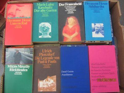 95 Bücher Taschenbücher suhrkamp Verlag