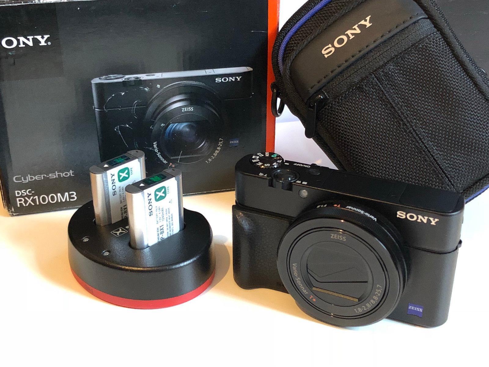 Sony Cyber-shot DSC-RX100M3, Mark III  Digitalkamera - Zubehörpaket - neuwertig!